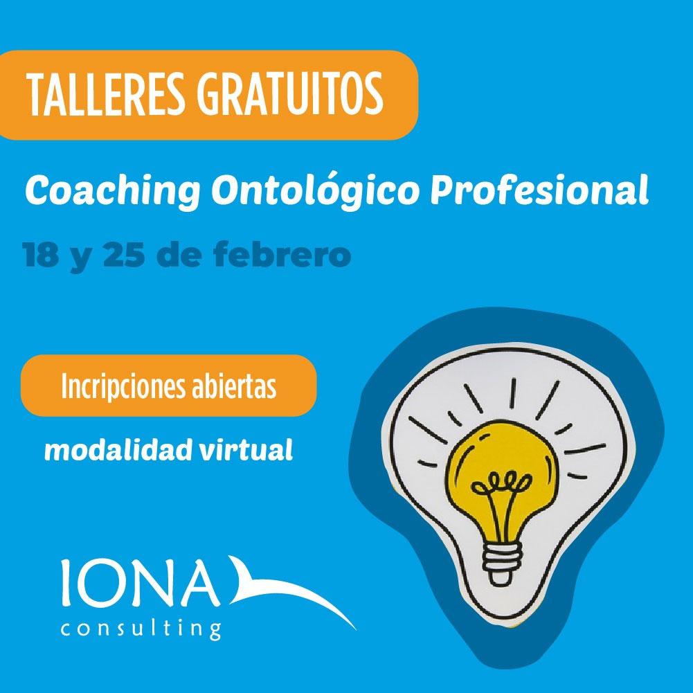 talleres gratuitos de Coaching Ontológico Profesional en Córdoba gratis